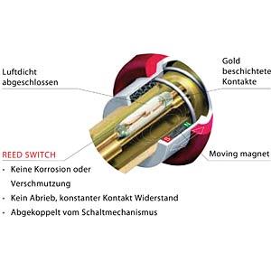Jack plug silentPlug, 6.35mm, angled NEUTRIK NP2RX-AU-SILENT