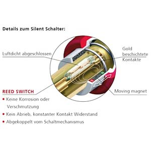 Klinkenstecker silentPlug, 6,35mm, gerade NEUTRIK NP2X-AU-SILENT