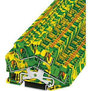 Doppelstockklemme, PTTBS 2,5, grün-gelb PHOENIX-CONTACT 3209620