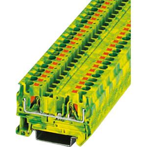 Durchgangsklemme, PT 4 grün-gelb PHOENIX-CONTACT 3211766