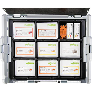WAGO Klemmen-Sortimentsbox - L-Boxx - 221 WAGO 887-918