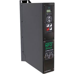 Frequency converter NFO Sinus 2.2 kW, 380...440 VAC 3-phase NFO DRIVES NFO SINUS 2,2 KW