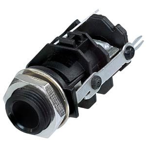Klinkeneinbaubuchse, Stereo, 3-pol REAN RJ3VI-D1