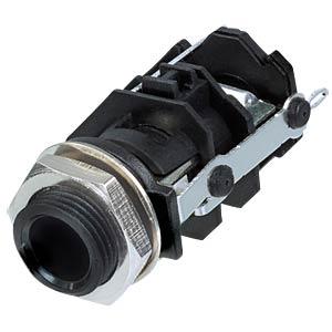Klinkeneinbaubuchse, Stereo, 3-pol REAN RJ3VI