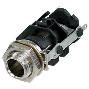 Klinkeneinbaubuchse, Stereo, 3-pol REAN RJ3VM-S
