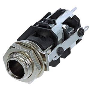 Klinkeneinbaubuchse, Stereo, 5-pol REAN RJ5VM-D1