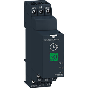 multifunctional time relay with NFC, 0.05 s - 999 h SCHNEIDER ELECTRIC RENF22R2MMW