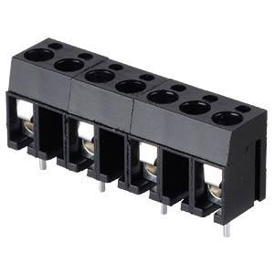 Lötbare Schraubklemme - 4-pol, RM 10 mm, 90° RND CONNECT RND 205-00025