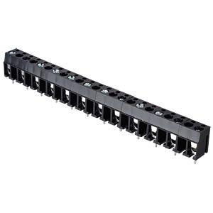 Lötbare Schraubklemme - 12-pol, RM 10 mm, 90° RND CONNECT RND 205-00033
