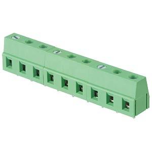 Lötbare Schraubklemme - 9-pol, RM 7,5 mm, 90° RND CONNECT RND 205-00074