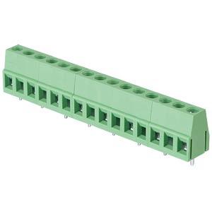Lötbare Schraubklemme - 8-pol, RM 10 mm, 90° RND CONNECT RND 205-00084