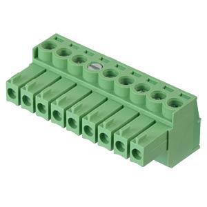 Steckbare Schraubklemme - 9-pol, RM 3,5 mm, 0° RND CONNECT RND 205-00096