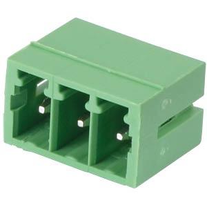 Pin header - 3-pole, contact spacing 3,5 mm, 0° RND CONNECT RND 205-00101