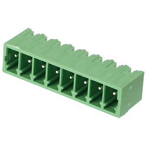Pin header - 8-pole, contact spacing 3,5 mm, 0° RND CONNECT RND 205-00106