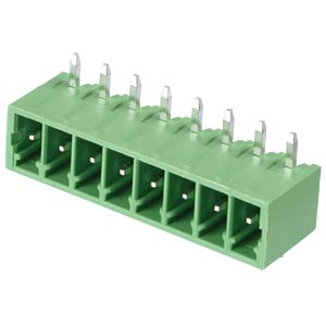 Pin header - 8-pole, contact spacing 3,5 mm, 90° RND CONNECT RND 205-00117