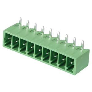 Pin header - 9-pole, contact spacing 3,5 mm, 90° RND CONNECT RND 205-00118