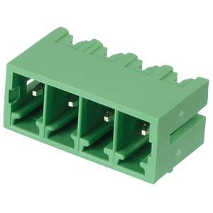 Stiftleiste - 4-pol, RM 3,81 mm, 0° RND CONNECT RND 205-00135