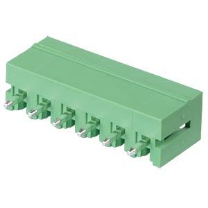 Stiftleiste - 6-pol, RM 3,81 mm, 0° RND CONNECT RND 205-00137