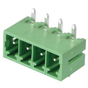 Stiftleiste - 4-pol, RM 3,81 mm, 90° RND CONNECT RND 205-00146
