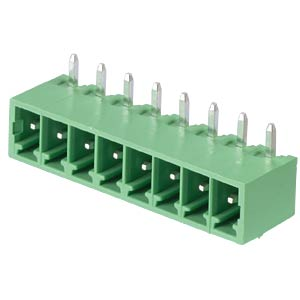 Stiftleiste - 8-pol, RM 3,81 mm, 90° RND CONNECT RND 205-00150