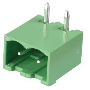 Stiftleiste - 2-pol, RM 5 mm, 90° RND CONNECT RND 205-00166
