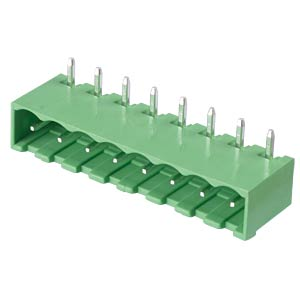 Pin header - 8-pole, contact spacing 5 mm, 90° RND CONNECT RND 205-00172