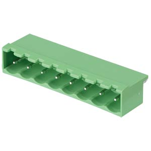Pin header - 8-pole, contact spacing 5,08 mm, 0° RND CONNECT RND 205-00194