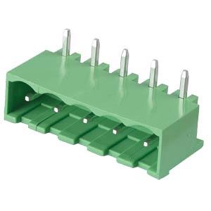 Stiftleiste - 5-pol, RM 5,08 mm, 90° RND CONNECT RND 205-00202