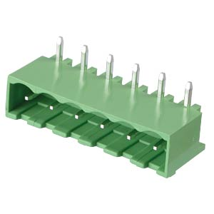 Pin header - 6-pole, contact spacing 5,08 mm, 90° RND CONNECT RND 205-00203