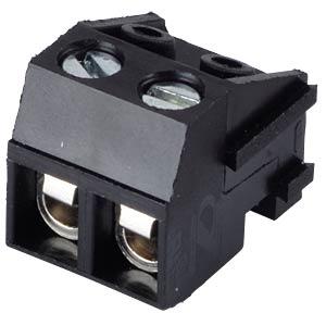 Steckbare Schraubklemme - 2-pol, RM 5 mm, 0°/90° RND CONNECT RND 205-00210