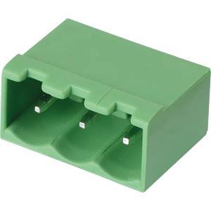 Stiftleiste - 3-pol, RM 5 mm, 0° RND CONNECT RND 205-00222