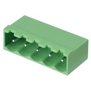 Stiftleiste - 5-pol, RM 5 mm, 0° RND CONNECT RND 205-00224