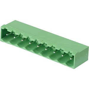 Pin header - 9-pole, contact spacing 5 mm, 0° RND CONNECT RND 205-00228