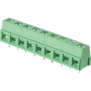 Lötbare Schraubklemme - 9-pol, RM 5,08 mm, 90° RND CONNECT RND 205-00239