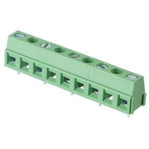 Lötbare Schraubklemme - 5-pol, RM 10,16 mm, 90° RND CONNECT RND 205-00246