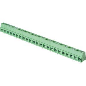 Lötbare Schraubklemme - 12-pol, RM 10,16 mm, 90° RND CONNECT RND 205-00253