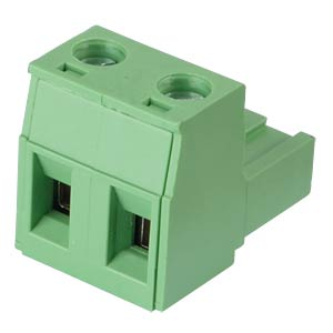 Pluggable screw terminal - 2-pole, contact spacing 7,5 mm, 0° RND CONNECT RND 205-00265