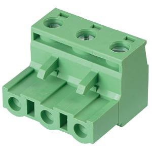 Steckbare Schraubklemme - 3-pol, RM 7,5 mm, 0° RND CONNECT RND 205-00266