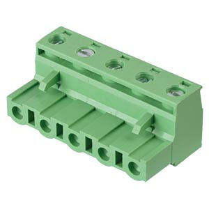 Pluggable screw terminal - 5-pole, contact spacing 7,5 mm, 0° RND CONNECT RND 205-00268