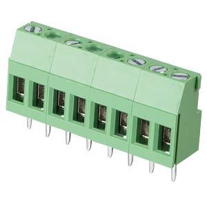 Lötbare Schraubklemme - 8-pol, RM 5,08 mm, 90° RND CONNECT RND 205-00293