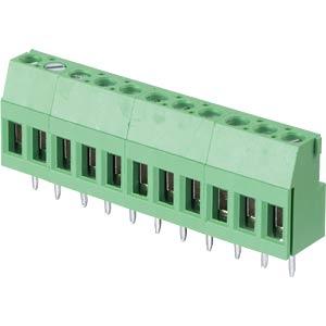 Lötbare Schraubklemme - 11-pol, RM 5,08 mm, 90° RND CONNECT RND 205-00296