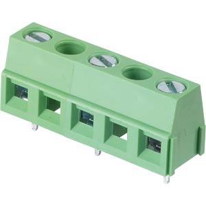 Lötbare Schraubklemme - 3-pol, RM 10 mm, 90 ° RND CONNECT RND 205-00299