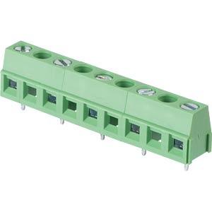 Lötbare Schraubklemme - 5-pol, RM 10 mm, 90 ° RND CONNECT RND 205-00301