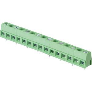 Lötbare Schraubklemme - 8-pol, RM 10 mm, 90 ° RND CONNECT RND 205-00304