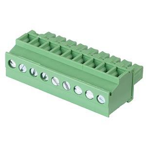 Steckbare Schraubklemme - 9-pol, RM 3,81 mm, 90° RND CONNECT RND 205-00327