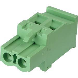 Steckbare Schraubklemme - 2-pol, RM 5,08 mm, 90° RND CONNECT RND 205-00375
