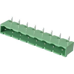 Pin header - 8-pole, contact spacing 7,5 mm, 90° RND CONNECT RND 205-00403