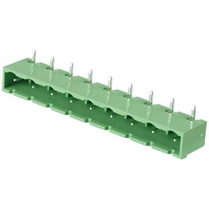 Pin header - 9-pole, contact spacing 7,5 mm, 90° RND CONNECT RND 205-00404