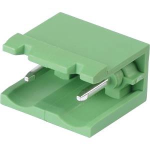 Stiftleiste - 2-pol, RM 7,5 mm, 0°, offen RND CONNECT RND 205-00408