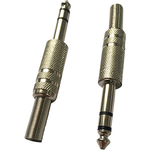 RND 205-00604 - Klinkenstecker, 6,3 mm, Stereo
